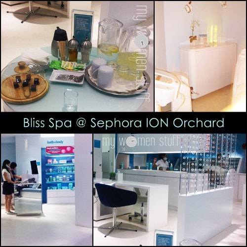 bliss spa2 Salon Spy: Bliss Spa Triple Oxygen Facial at Sephora Singapore