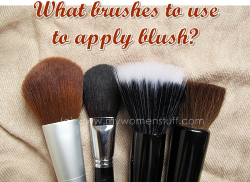brushestouse What brush do you use to apply blush?
