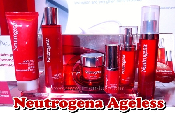 neutrogena ageless New! Neutrogena Ageless Anti Wrinkle and Firming Skincare