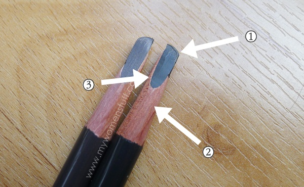 shu brow pencil2 Whats so special about the Shu Uemura Hard Formula Brow Pencil that gets it a repeat review?