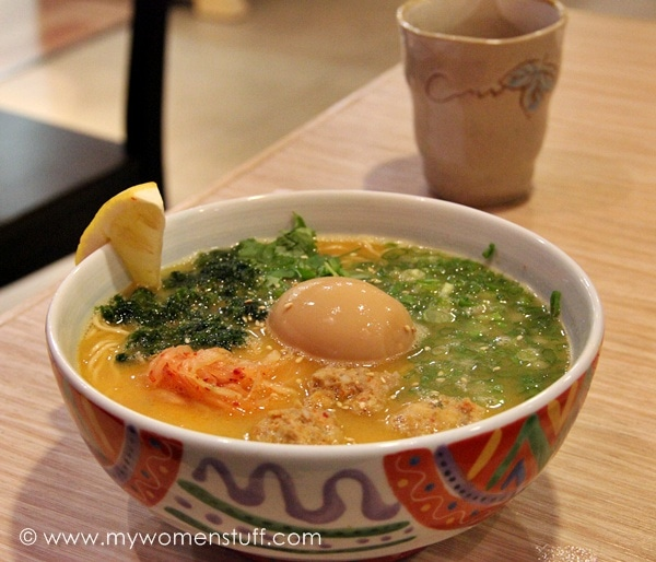 marutama ramen MWS Open Cafe Vol. 6 : Food glorious food!