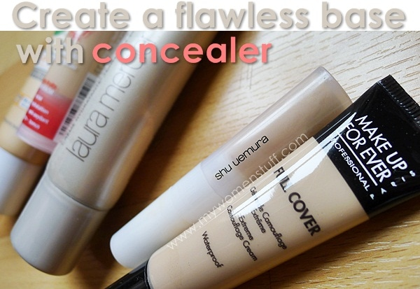 concealer Tip: Create a flawless makeup base with Concealer not thick foundation