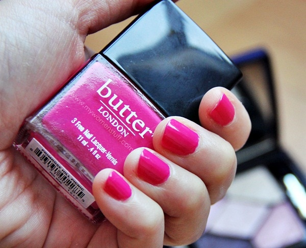 nail butter london Pretty in Pink : Will you Pink of me as I am Pink ing of you?