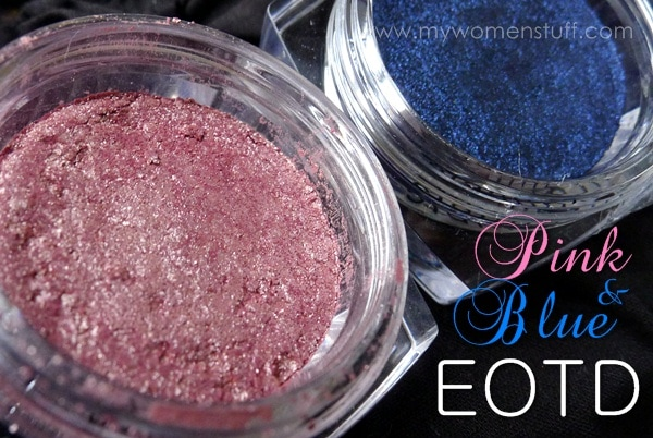 loreal infallible pink blue3 Pink Eyeshadow Challenge: How to wear LOreal Infallible Color Eyeshadow in Forever Pink