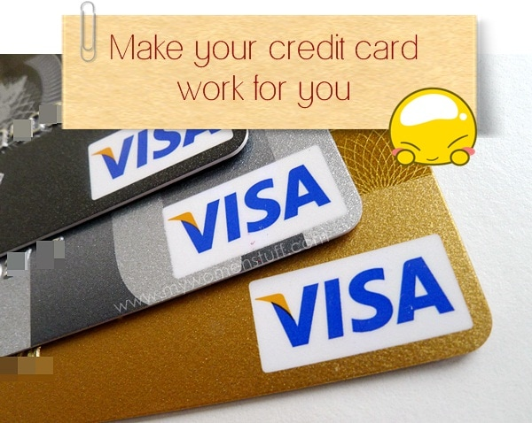 credit card2 Money Tip: Dont be afraid of the credit card   Make it work for you!