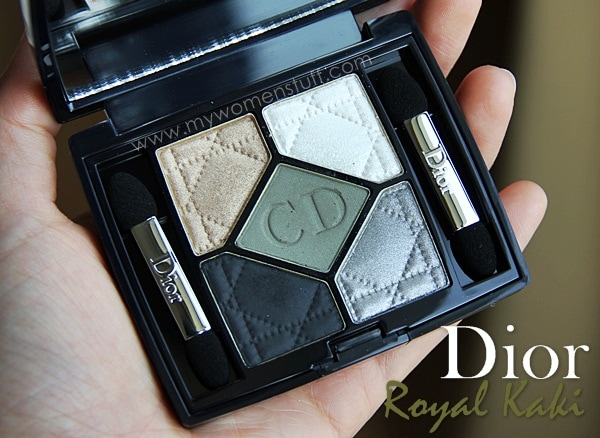 dior new look royal kaki3 Get a Royal New Look with Dior Royal Kaki 454 Eyeshadow palette : My favourite of the New Look palettes!