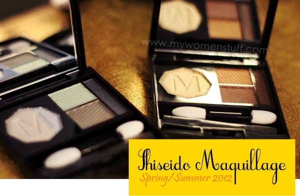 maquillage 2012 3 New! Shiseido Maquillage Spring/Summer 2012 (Ooh! A new lipstick!)
