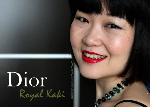 royalkaki fotd Get a Royal New Look with Dior Royal Kaki 454 Eyeshadow palette : My favourite of the New Look palettes!