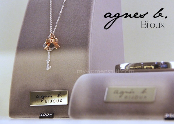 agnes b bijoux Pretty and charming little trinkets from Agnes B Bijoux