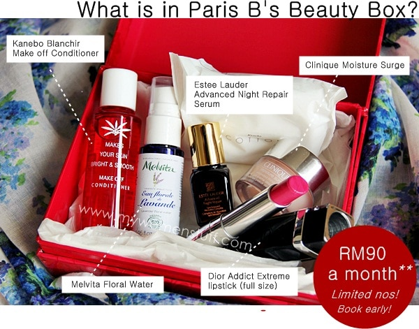 beauty bloggers box2 My Women Stuff Beauty Box Subscription: The introductory box
