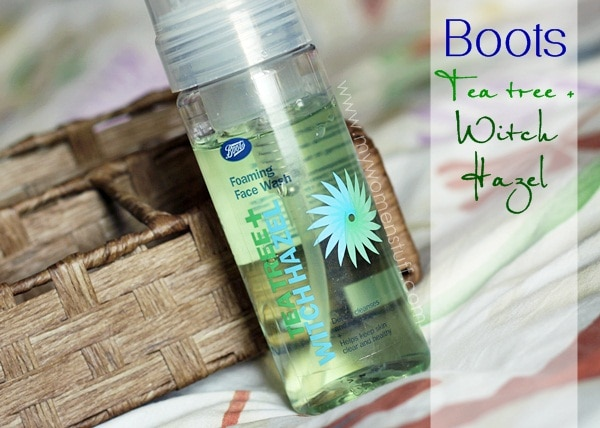 boots tea tree witch hazel3 Breakouts? I put the Boot(s) in it by using the affordable Boots Tea Tree + Witch Hazel Foaming Face Wash