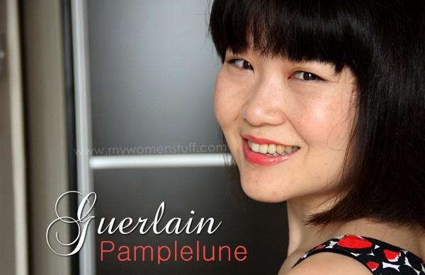 guerlain shine pamplelune7 Lipstick Bandits: Bright Summer Lips to Rival the Bright Summer Sun