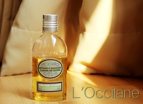 loccitane almond oil Bathing Beauty: The LOccitane Almond Shower Oil is my luxury shower treat!