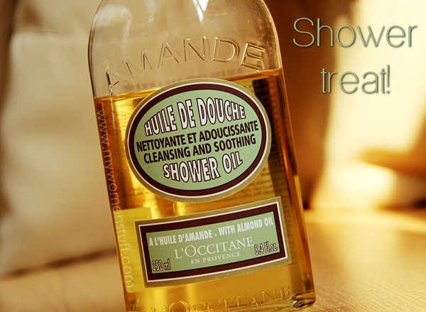loccitane almond oil3 Bathing Beauty: The LOccitane Almond Shower Oil is my luxury shower treat!