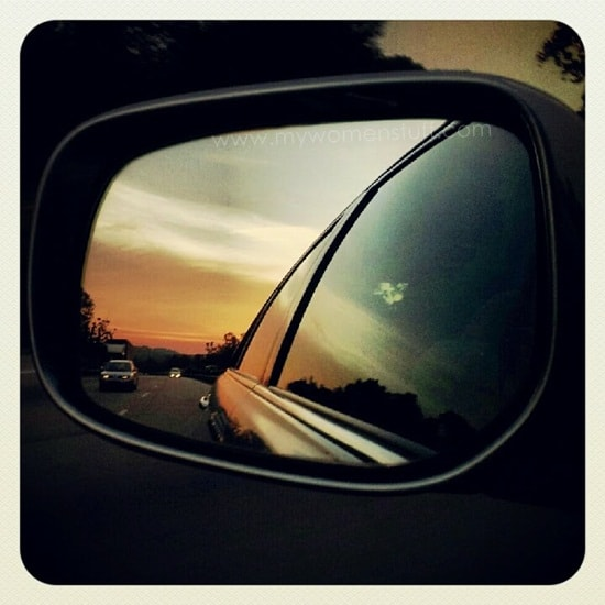 Post image for Insta-Updates: Objects in a mirror are closer than they appear (and a video!)