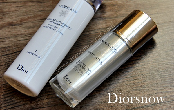 diorsnow day essence lotion For skin as white as Diorsnow: White Reveal Moisturizing Lotion and D NA Control White Reveal Day Essence