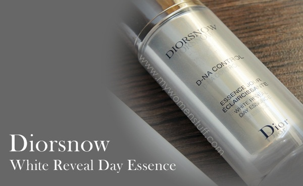 diorsnow day essence lotion2 For skin as white as Diorsnow: White Reveal Moisturizing Lotion and D NA Control White Reveal Day Essence