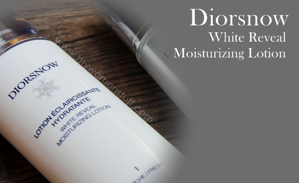 diorsnow day essence lotion3 For skin as white as Diorsnow: White Reveal Moisturizing Lotion and D NA Control White Reveal Day Essence