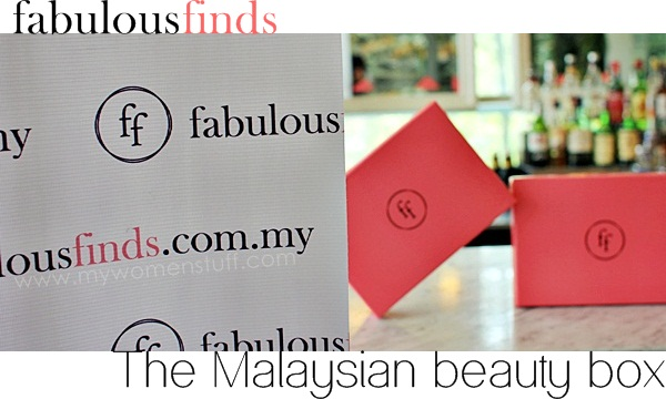 fabulous finds beauty box malaysia review