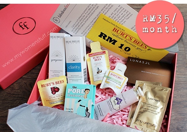 fabulous finds box3 Receive Fabulous Finds every month: Malaysias first beauty box subscription launches
