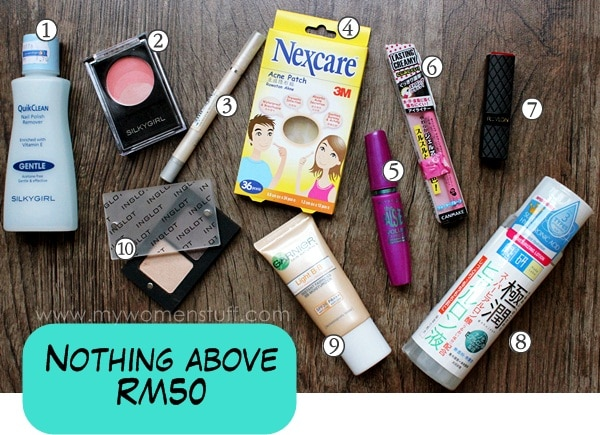 budget buys Budget Beauty: 10 Things I love that cost under RM50