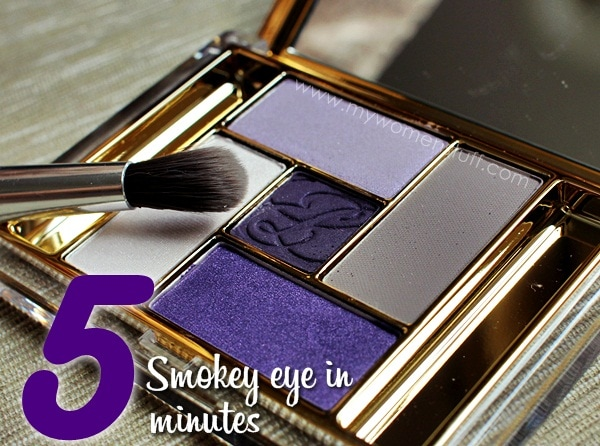 el smokey eye4 The 5 minute Smokey Eye Tutorial : A tip from Estee Lauder Makeup Artists