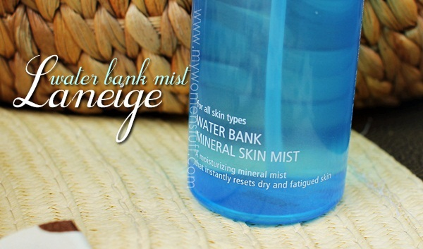 laneige water bank mist2 I cant decide if the Laneige Water Bank Mineral Skin Mist is a Hit or a Mist for a hot day