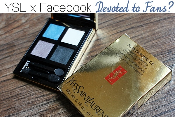 ysl devoted to fans facebook Is the YSL x Facebook Devoted to Fans Eyeshadow Palette truly unique and limited edition? How did I end up with one?