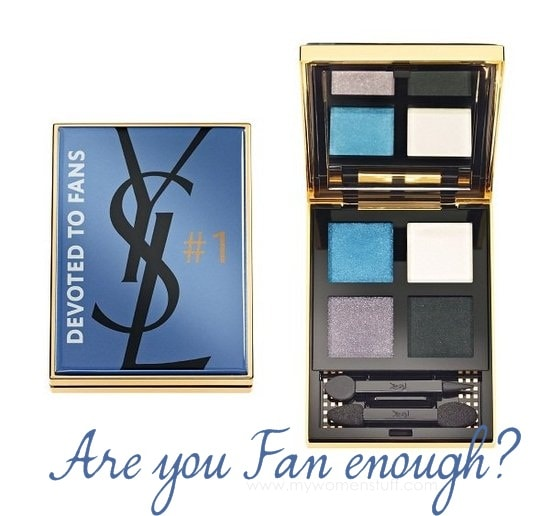 ysl facebook palette Is the YSL x Facebook Devoted to Fans Eyeshadow Palette truly unique and limited edition? How did I end up with one?