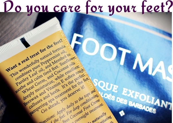 care feet2 Your Say: Do you care for your feet? Do you have tips on how to care for your feet?