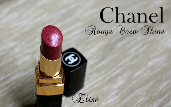 chanel elise2 Lipstick Bandits : I Sheer ly would have no problem finding a sheer lipstick to share!