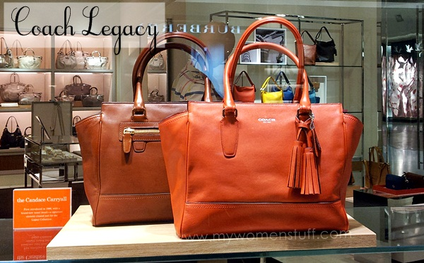 coach legacy Coach Legacy Collection : Back to Basics and looking good while at it!