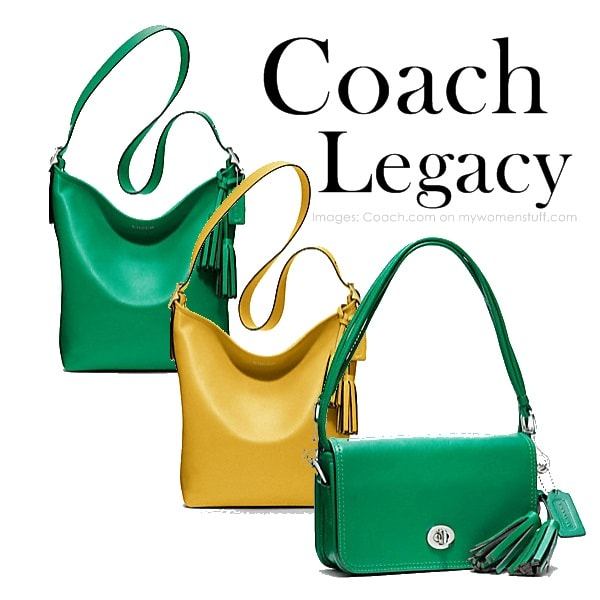 coach legacy2 Coach Legacy Collection : Back to Basics and looking good while at it!