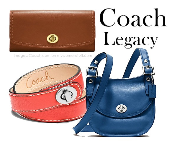 coach legacy3 Coach Legacy Collection : Back to Basics and looking good while at it!