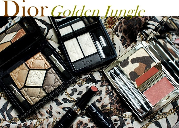 dior golden jungle Dior takes to the Jungle and goes for Gold : An overview of Dior Golden Jungle Fall 2012