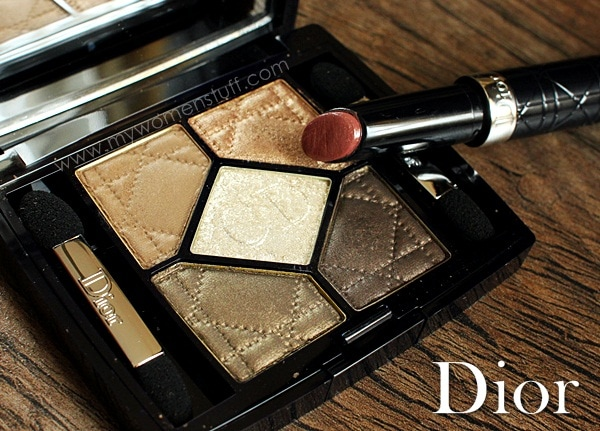 dior golden savannah6 The Dior Golden Savannah palette brings out the animal in you! (with Copper Brown Serum for good effect)