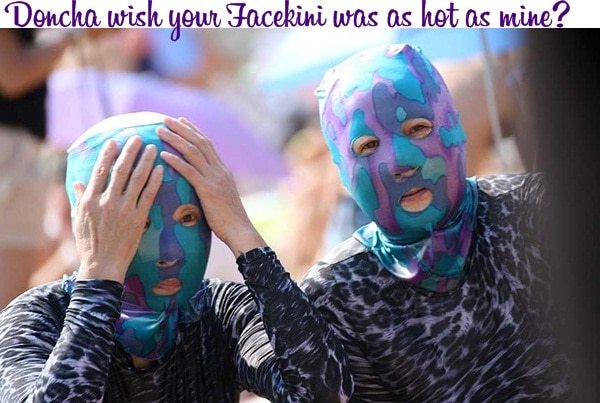 facekini3 2012 Has Been Another Memorable Year : Thank you, this is for you!