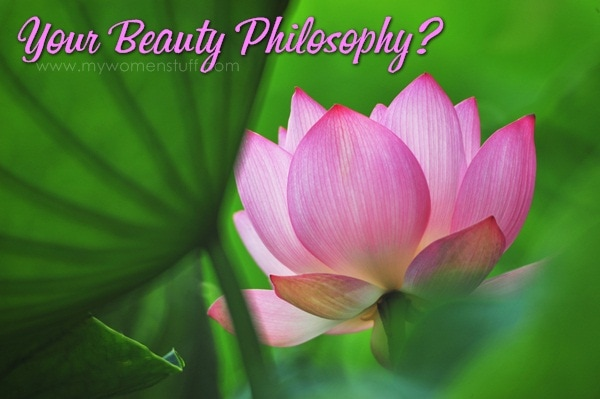 lotus Your Say: What is your beauty philosophy?