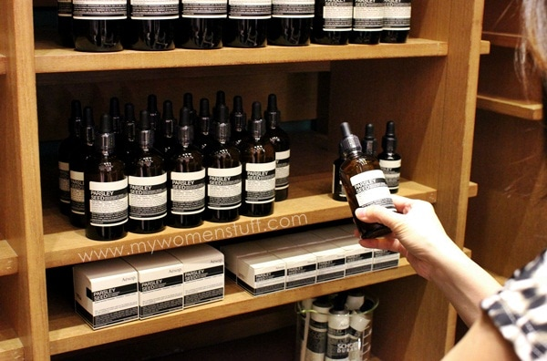 aesop store2 New! Aesop introduces Reverence Hand Care and sets up their signature flagship store in Malaysia