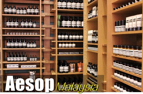 aesop store3 New! Aesop introduces Reverence Hand Care and sets up their signature flagship store in Malaysia