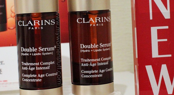 clarins double serum3 New! Clarins Double Serum (Complete Age Control Concentrate) Anti Aging Serum