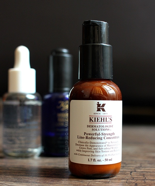 kiehls plrc C Power: Kiehls Powerful Strength Line Reducing Concentrate does everything it says on the box