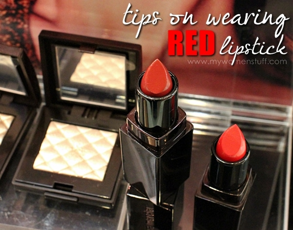 lm red lipstick tips How to wear a red lipstick for day and for night : Tips from Laura Mercier Global Makeup Artist Michel Coulombe