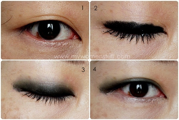 eyeshadow tute Tip and How To: Using Eyeliner as an Eyeshadow Base