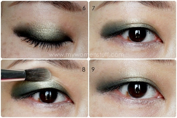 eyeshadow tute2 Tip and How To: Using Eyeliner as an Eyeshadow Base