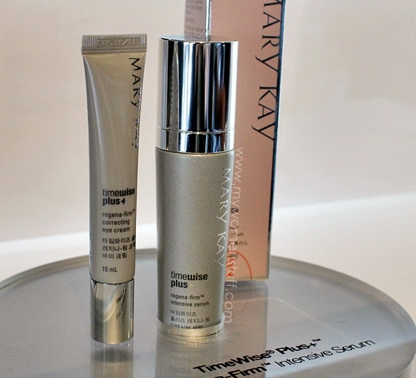 marykay timewiseplus3 New! Mary Kay Timewise Plus+ Regena Firm Intensive Serum and Correcting Eye Cream