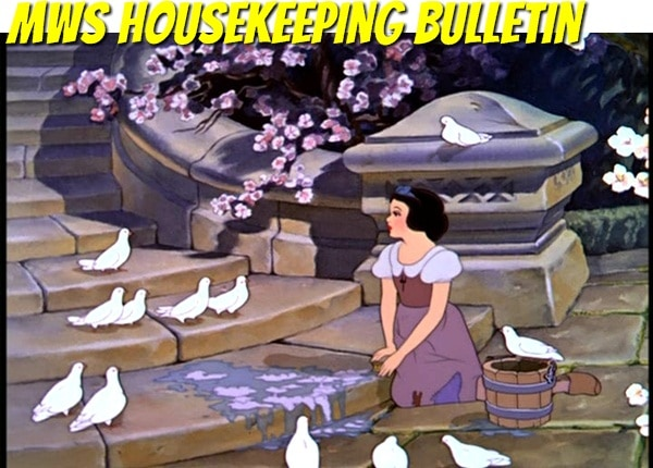 mws housekeeping MWS Blog Housekeeping Bulletin Including Readers Choice Awards 2012 and Celebrate October Giveaway Updates