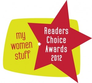 mws rca12 300x270 My Women Stuff Readers Choice Awards 2012