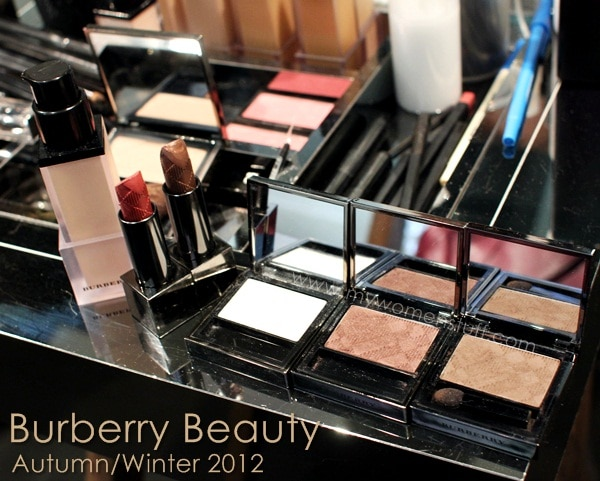 burberry aw12 New! Burberry Beauty Autumn/Winter Collection 2012 and Velvet Foundation