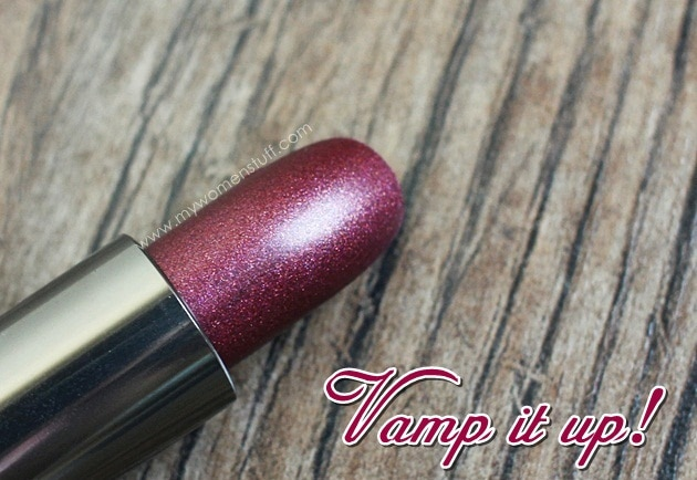 vamp lips4 Lipstick Bandits Vamp it up for the Fall Winter Season